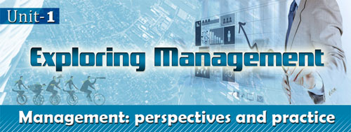 Course Image Management Perspectives- Unit 1: Exploring management